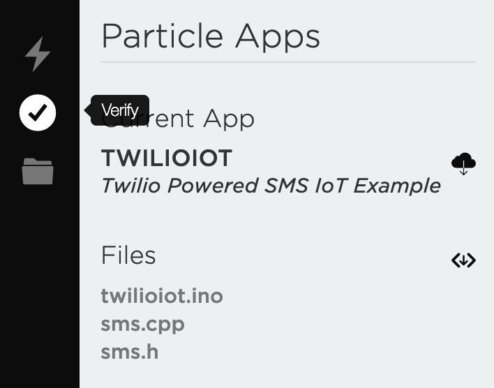 Twilio IoT SMS Particle Electron