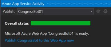 Visual Studio - Azure App Serviceのアクティビティ