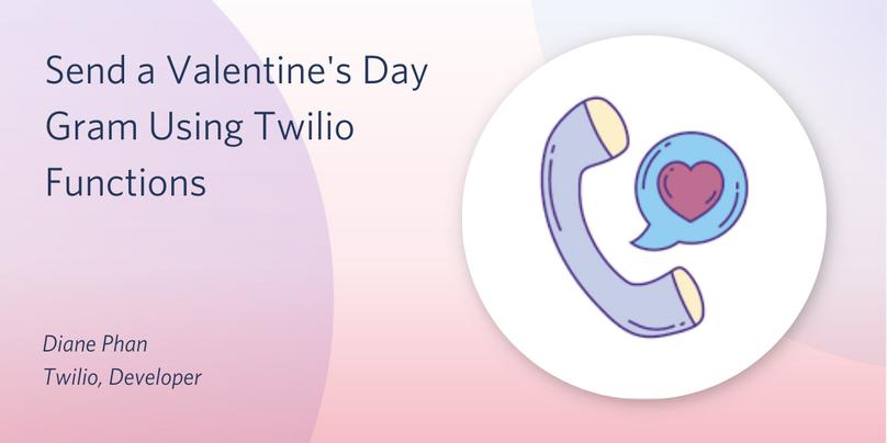 header - Send a Valentine's Day Gram with Twilio Functions