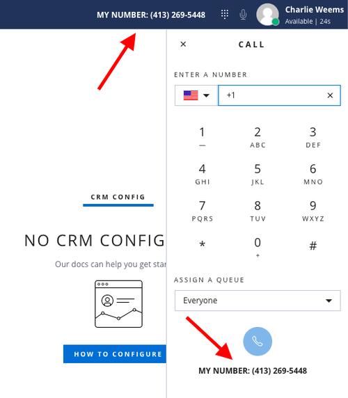 Screenshot of the Flex agent interface