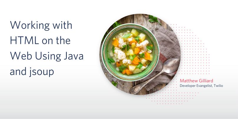 Working with HTML on the Web Using Java and jsoup