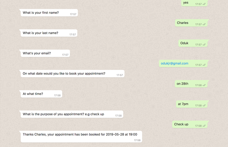 WhatsApp Autopilot full conversation