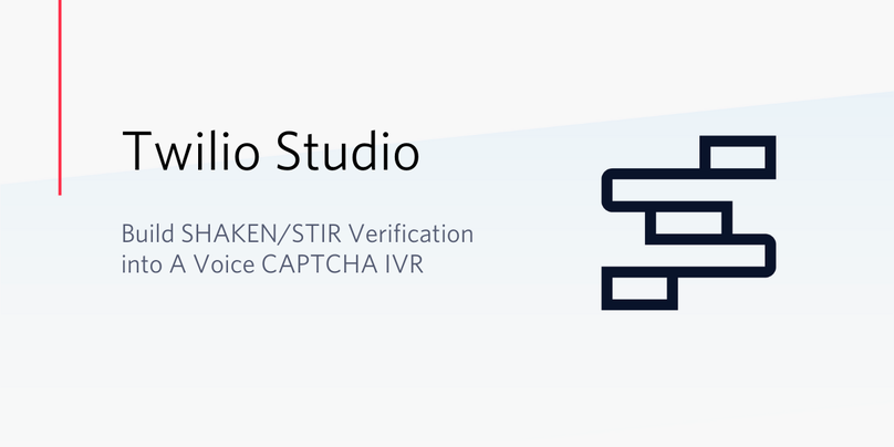 Studio SHAKEN/STIR IVR