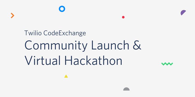 CodeExchange Launch Header with Hackathon