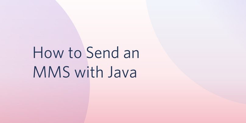 header - How to Send an MMS with Java