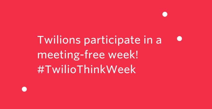 Think Week