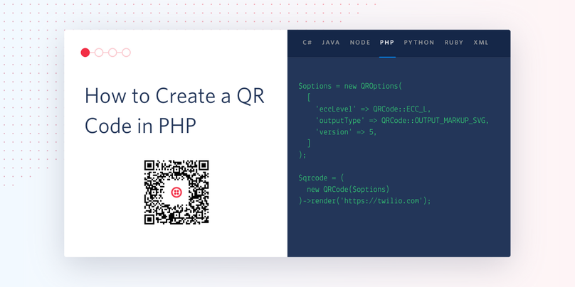 How to Create a QR Code in PHP