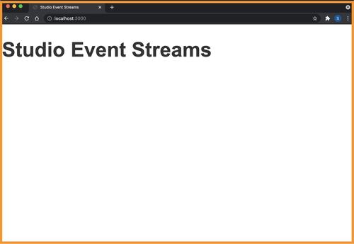Event Streams Dashboard