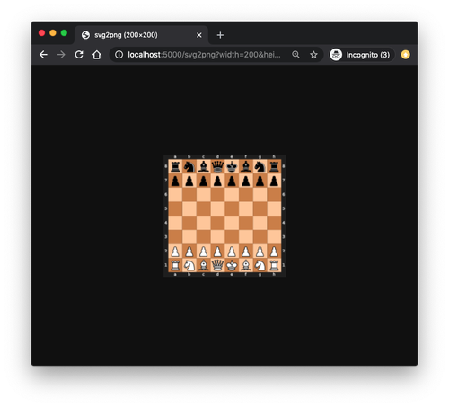 localhost view of the svg2png webhook showing a resized photo of the chess board diagram