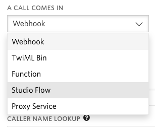 Voice and Fax incoming call hook list