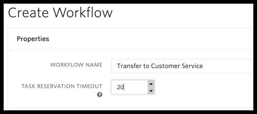 Ajout des paramètres du nouveau workflow
