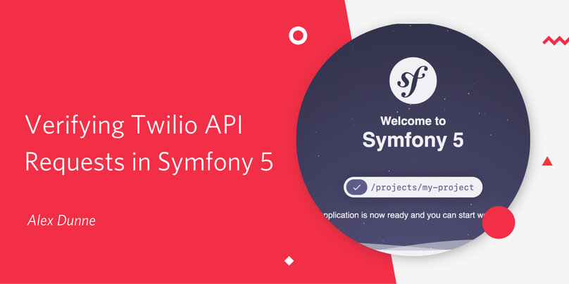 Verifying Twilio API requests in Symfony 5