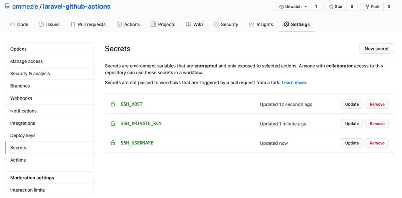 Github SSH Keys