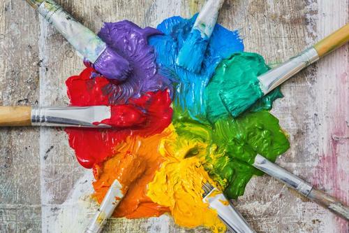 farbige Farben