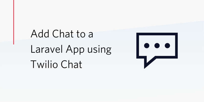 Add Chat to a Laravel App Using Twilio Chat