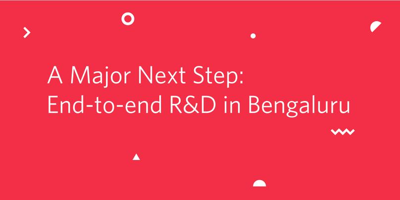 R&D in Bengaluru
