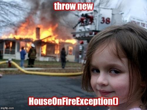 Exception meme