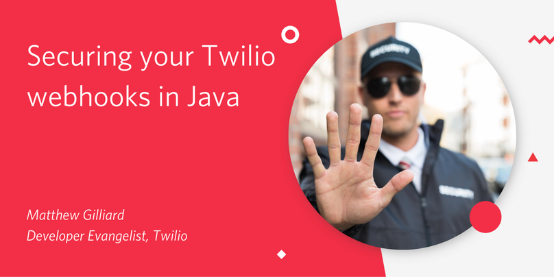 Header image: Securing your Twilio webhooks in Java