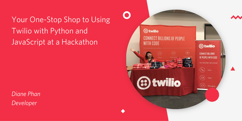 header - Your One-Stop Shop to Using Twilio with Python and JavaScript at a Hackathon