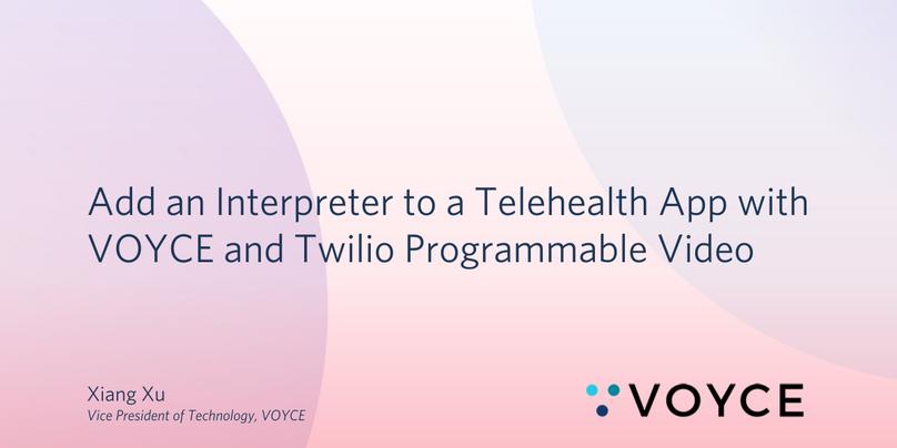 VOYCE Interpreter Telehealth Room