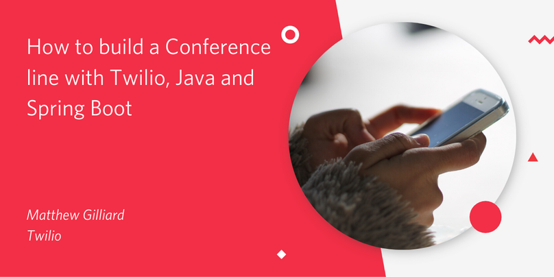 How to build a Conference line with Twilio and Java