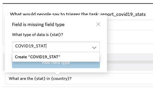 COVID19_STAT field creation