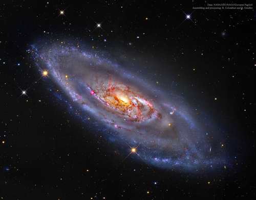 Photo of a galaxy from NASA's photo of the day API.