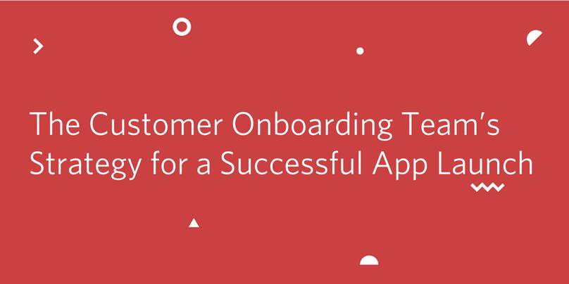 Customer Onboarding Team Launch Header