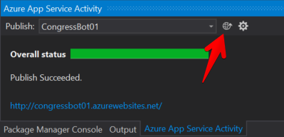 Visual Studio - Azure Publish