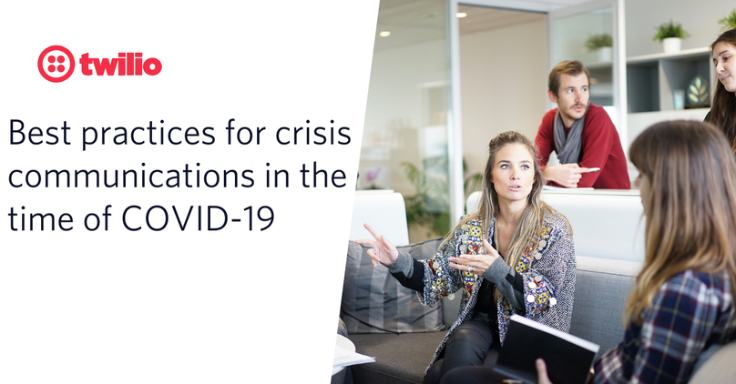 Best practices for businesses across crisis comms, elastic infrastructure, and business continuity in the age of COVID-19