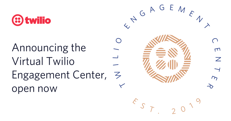 twilio virtual engagement center