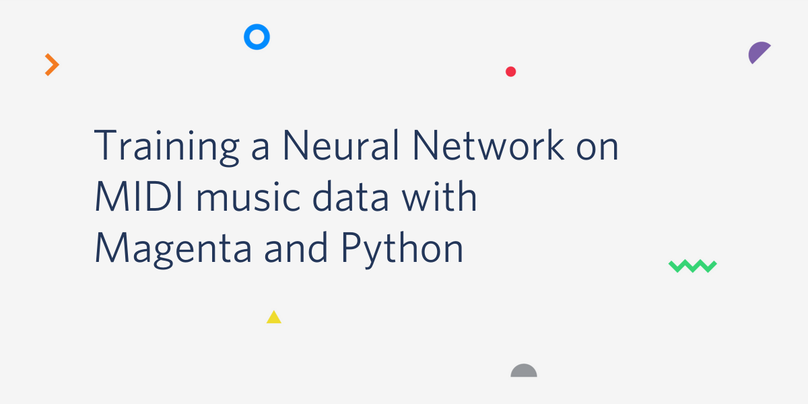 Training a Neural Network on MIDI data with Magenta and
