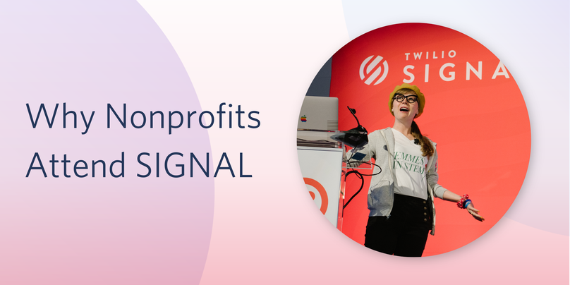 Why Nonprofits Attend SIGNAL