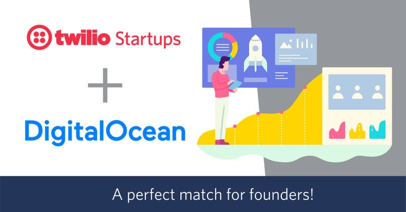 Twilio Startups and Digital Ocean