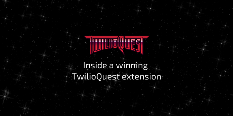 Inside a winning TwilioQuest extension