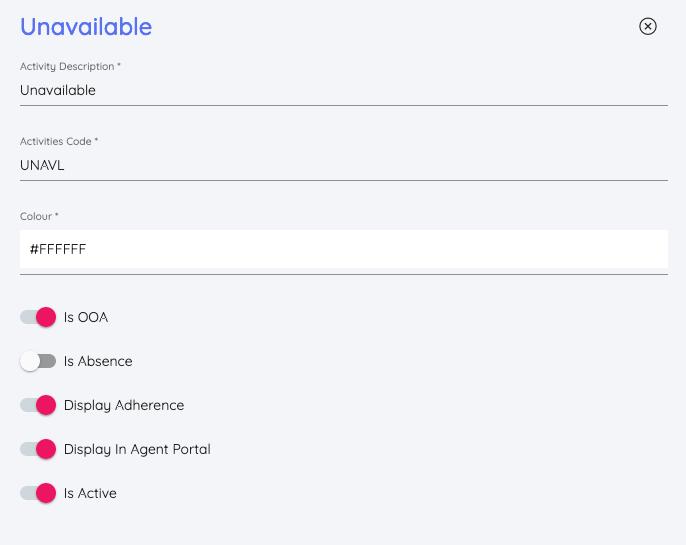 Create Custom Activity Types