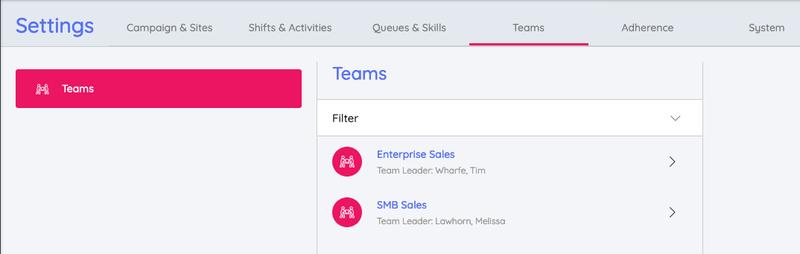 Create Teams Puzzel WFM