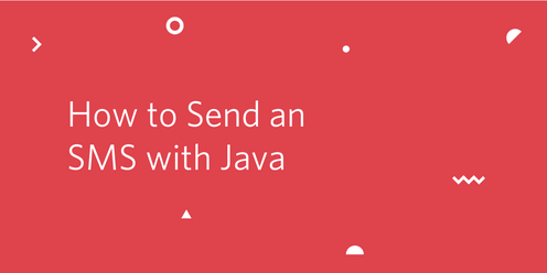 header - How to Send an SMS with Java