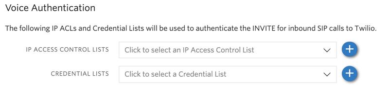 Add an IP Access Control list