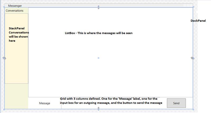 Screenshot showing layout