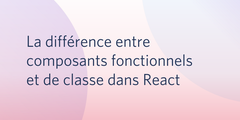 difference composants react