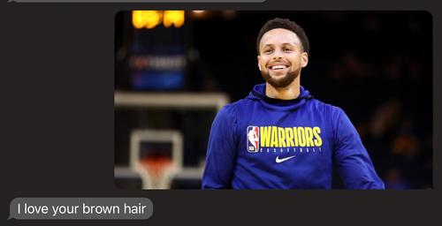 Steph Curry hair color
