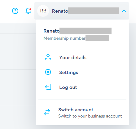TransferWise settings