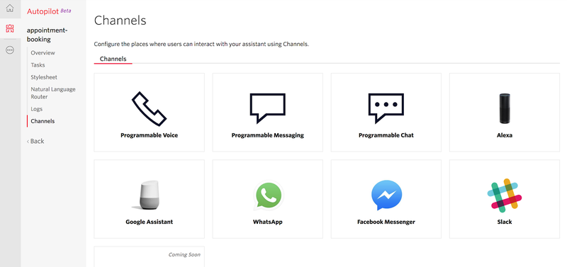 Autopilot Channel Dashboard