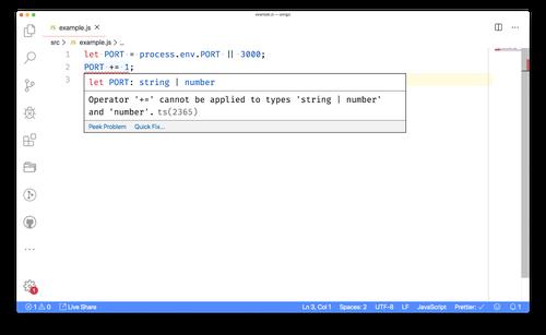 vs code - ts error