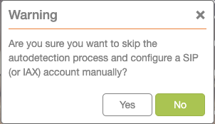"Click ""Yes"" button on warning screen."