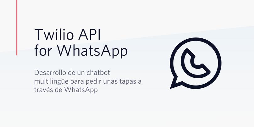 Crea un chatbot multilingüe para pedir unas tapas a través de WhatsApp