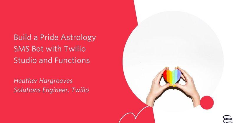 Pride Astrology Twilio Bot