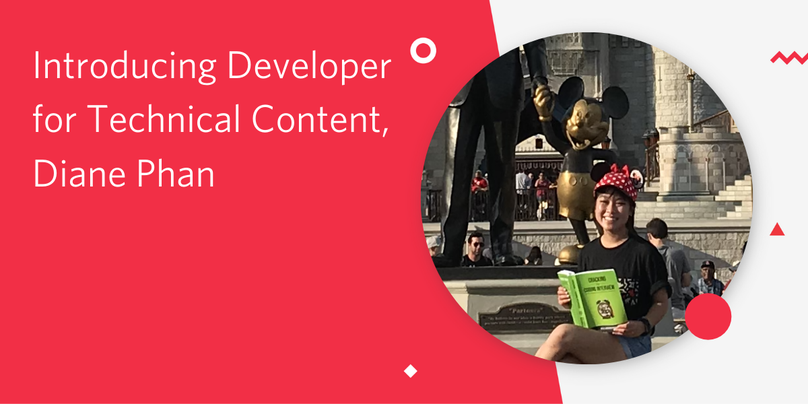 header - Introducing Developer for Technical Content, Diane Phan