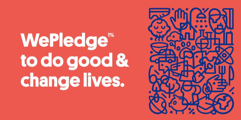 WePledge 1% Blog Header - January